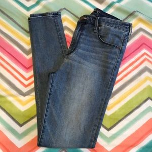 Abercrombie & Fitch super skinny high rise jeans